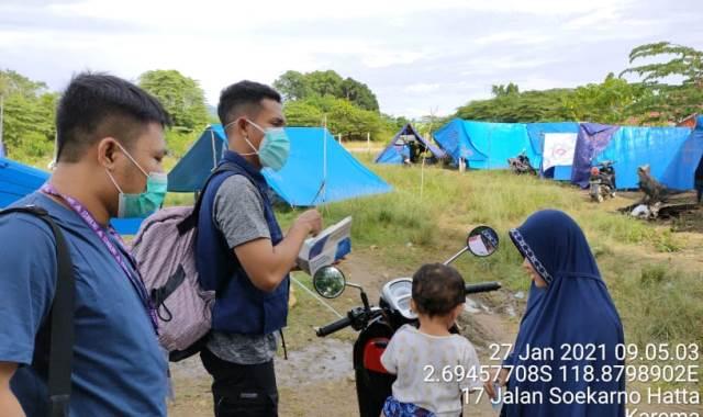 Selain Yankes Tim Medis RSI Aisyiyah Malang Beri Psikososial Pengungsi 1