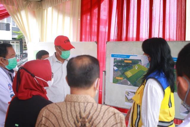 UMM, Kementrian PUPR-BNPP Bangun RS Lapangan Pasien Covid 1