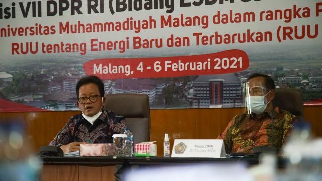UMM-Komisi VII DPR RI Kaji RUU Energi Baru Terbarukan 1