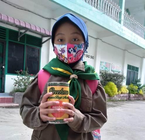 Tumbuhkan Jiwa Filantropi Lazismu Kota Langsa Aceh Sebar Tabungan Receh 1