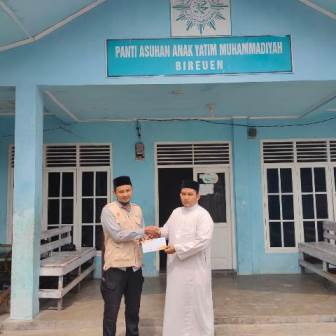Lazismu Bireuen Bantu School Kit-Operasional Panti Asuhan Muhammadiyah 1