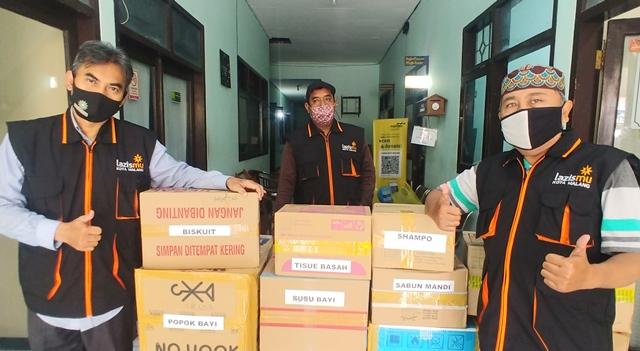 Lazismu Terima Donasi PDA Kota Malang Rp. 30 Juta-Logistik Bencana 1