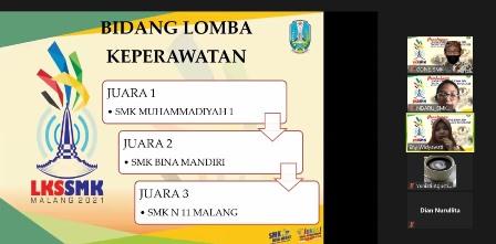 Juara Satu Bidang Keperawatan, SMK Muhisa Melaju Jatim 1