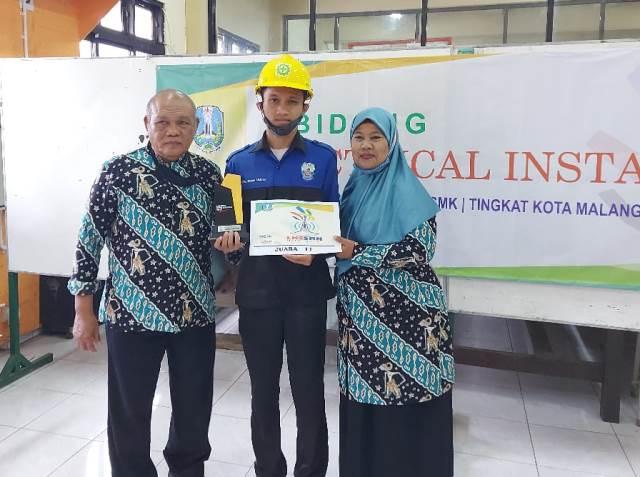 Skill Kelistrikan Mantap, Siswa SMK Muhisa Runner Up 1