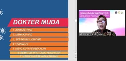 Gelar Lokakarya-Evaluasi Klinik, FK UMM Hasilkan Lulusan Dokter Profesional 1