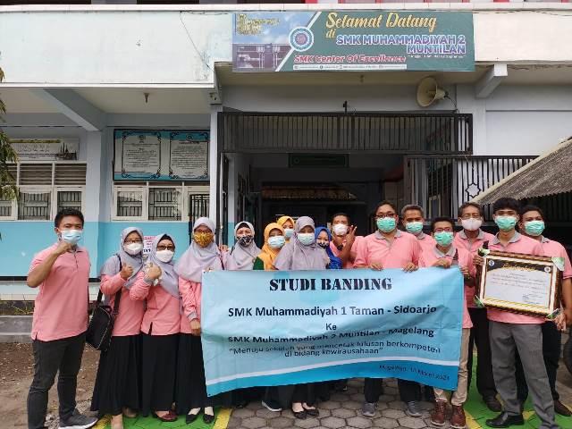 SMK MITA Sidoarjo Studi Banding SMK Muda Muntilan, Fokus Kewirausahaan 2