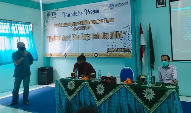 HRD-K3 PT ISPAT Indo Sidoarjo Bekali Siswa PKL SMK MITA 1