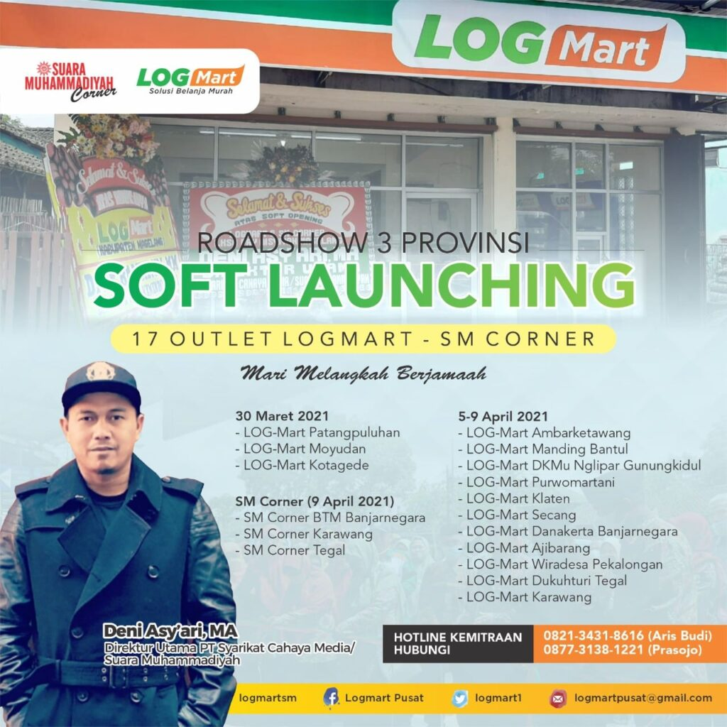 Sambut Ramadhan, Launching 17 Logmart-SM Corner Tiga Provinsi 1