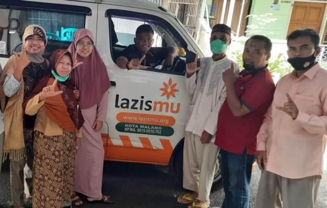 Tim Lazismu Kota Malang Takziyah Tokoh-Sesepuh Muhammadiyah 1
