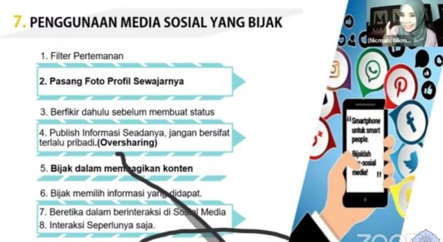 Hadir Webinar Mamumtaza, Jurnalis SMK MITA Langsung Praktek Menulis Berita 1