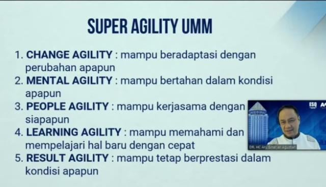 Student Day, Ary ESQ Sebut Empat Super Agility UMM 1