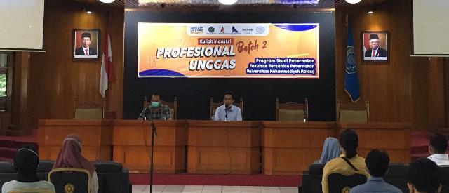 Sukses Tahap Pertama, Prodi Peternakan UMM-Jatinom Agri Buka Lagi Kelas Profesional Unggas 2