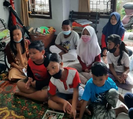 TBM Teras Literasi Launching Program Percakapan Bahasa Inggris 1