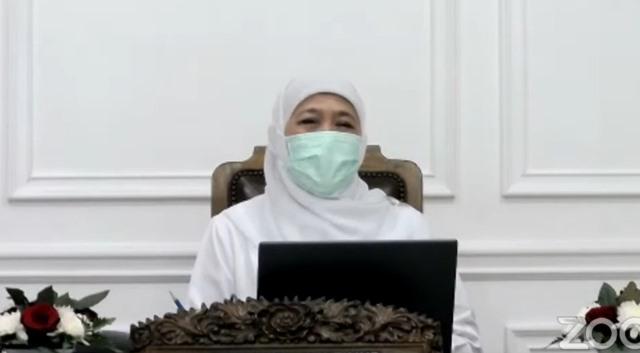 Gubernur Khofifah-Haedar Nasir Bahas Paska Pandemi Virtual Ramadhan UMM-PWM Jatim 1