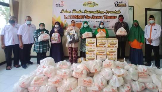Lazismu Kota Malang Tebar Ratusan Kado Ramadhan Lima Kecamatan 1