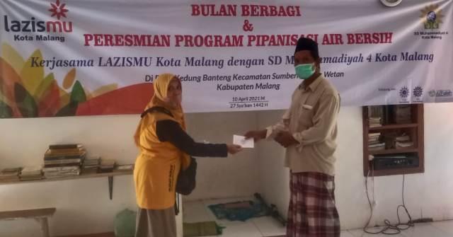 Sambut Ramadhan Lazismu Kota Malang Gandeng SD Mupat-Masjid Al Falah Gadang Bulan Berbagi 1