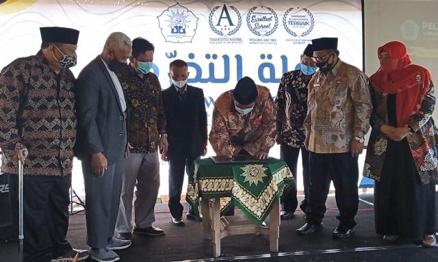 Kemenag Kota Malang Resmikan PTSP, Puji Istilah One-Stop Integrated Service 1