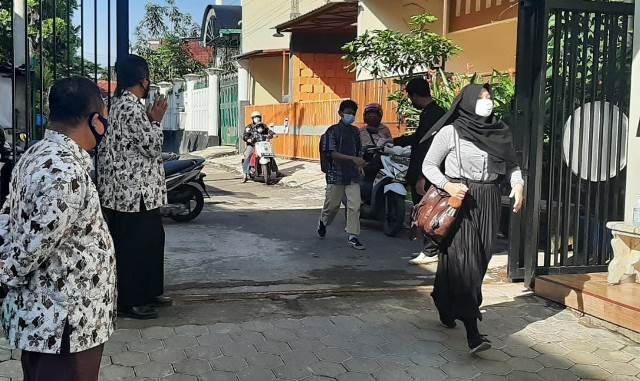 Matsamutu Belajar Tatap Muka di Gazebo, Materi Al Qur'an Fikih Hadis 1