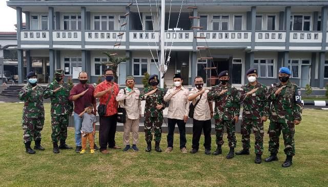 Datangi Mako Lanal, PDPM Kabupaten Malang Bela Sungkawa KRI Nanggala 402 1