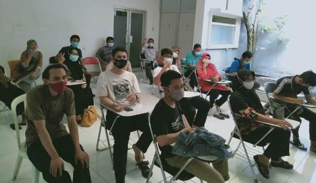Gandeng RS Soerya Guru-Karyawan SMK MITA Vaksin 1