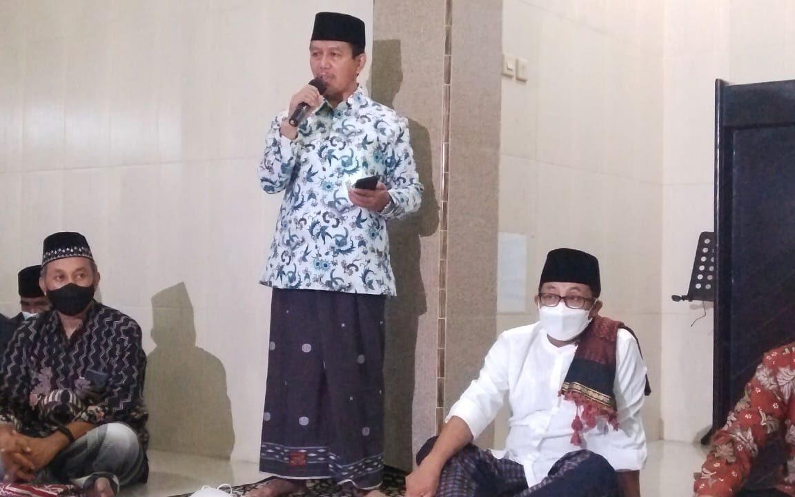 Sutiaji Safari Ramadhan, Masjid Surga Dapat Bantuan Baznas Rp. 15 Juta 1