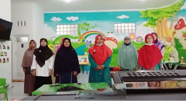Paduan Suara TK ABA Se-PCA Klojen Sambut Juara Lomba Milad Aisyiyah PDA Kota Malang 1