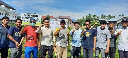 Warga Persyarikatan Langsa Baksos Bersih Lahan SD Muhammadiyah 3 1