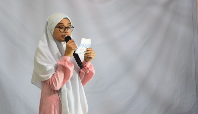 Literasi Santri Babussalam Lomba Baca Artikel Bahasa Arab-Inggris 1