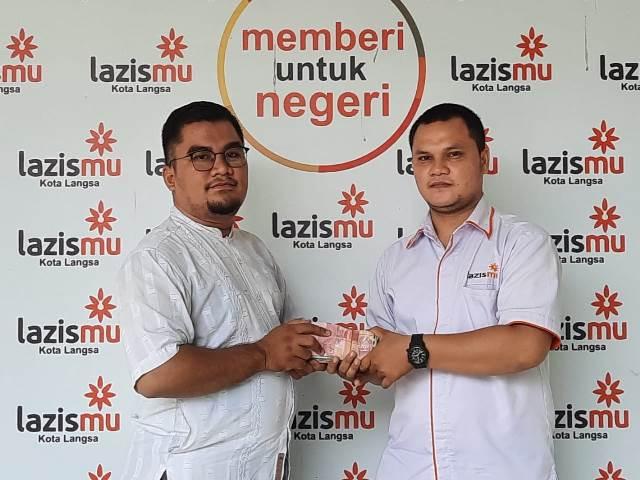 Donasi Palestina Masjid At Taqwa Langsa Aceh Closing Lazismu Rp. 38 Juta 1