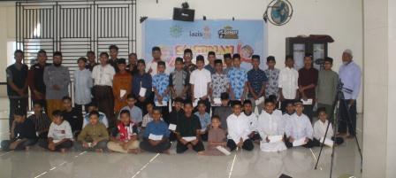 Tujuh Puluh Anak Yatim Terima Kado Ramadhan Lazismu Bireuen 1