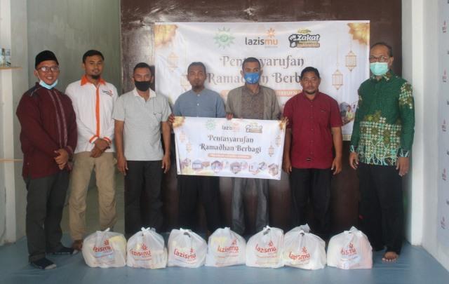 Lazismu Bireuen Aceh Bantu Sembako Ratusan Guru Muhammadiyah-Aisyiyah 1