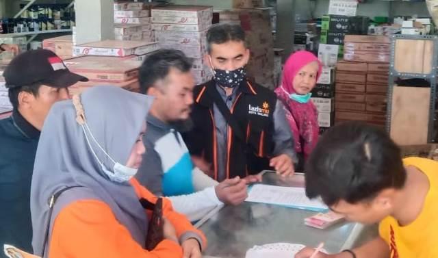 Sehari Lazismu Kota Malang Bantu Uang Tunai Korban Gempa-Pipanisasi 1
