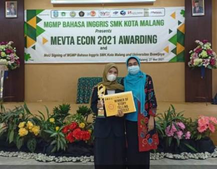 Kholifah Siswa SMK Muda Raih Medali Perunggu Ajang Mevta Econ 2021 1