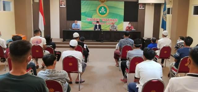 Manajemen HW FC Ta'aruf Pemain-PWM Jatim Olah Mental Spiritual 1