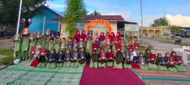 Pertama di AUM Waktu Shubuh Siswa SDIT Muhammadiyah Manggeng Rapotan 1