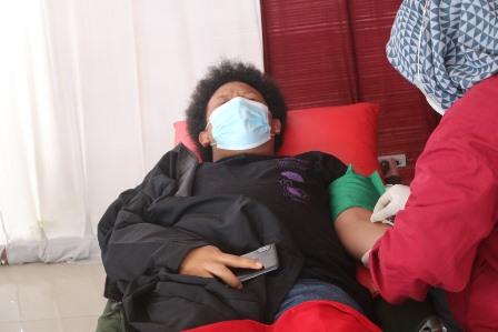 PMM 37 UMM-PMI Ngantang Giat Program Donor Darah Sukarela 1