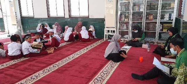 Usai Aksi Kreatif, Siswa SD Muhada Langsa Aceh Lomba Tahfidz 1