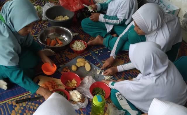 SD Muhada Langsa Aceh, Gelar Lomba Tematik Gembira Naik Kelas 1