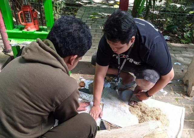 Riset Bambu Jadi Papan Komposit Arek Kehutanan UMM Raih PKM-RE Dikti 1