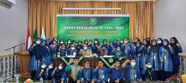 SD Muhada Langsa Aceh Gelar Raker Profesional-Efektif Sekolah Mandiri 1