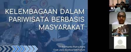Cac.Co Ikom UMM-Pokdarwis Diskusi PPKM Kampoeng Heritage Kajoetangan 2
