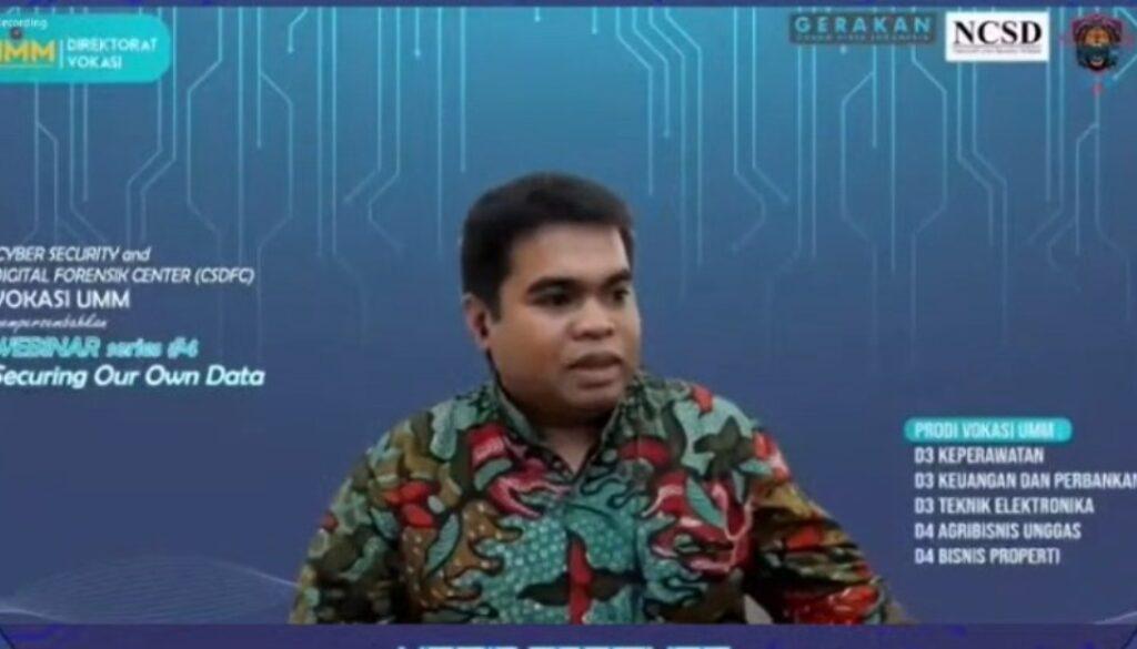 ciber security humas umm