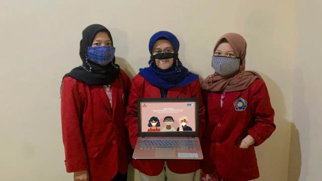 Solutif, Mahasiswa UMM Karya Masker Sedotan Plastik Khusus Tuna Rungu 1