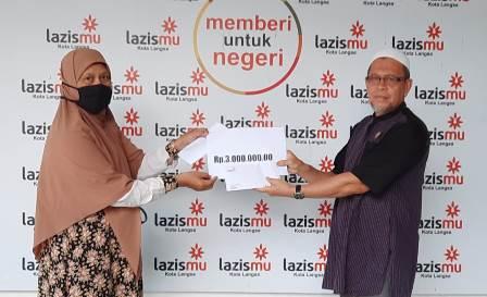 SD Muhada-Lazismu Langsa Bantu Renovasi TK ABA Bayeun Aceh Timur 1