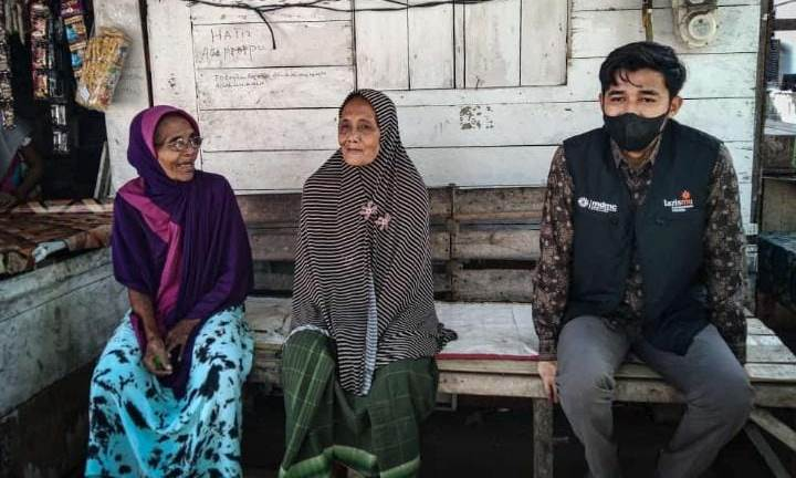 Lazismu Lhokseumawe Aceh Beri Modal Usaha Lansia Produktif 1