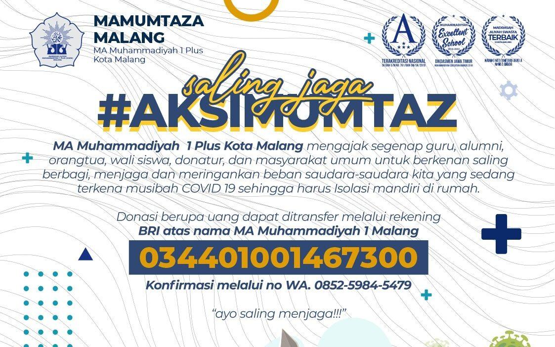 Relawan Mamumtaza Malang Selain Bagi Daging Qurban, Bantu Warga-Pelajar Isoman 2