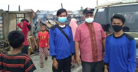 MDMC-Pimda Tapak Suci Ogan Ilir Bantu Korban Kebakaran Pemulutan 1