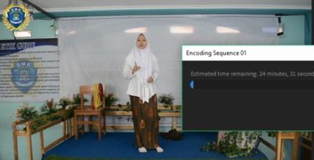 Monolog Auriza Arek SMK MITA Curi Perhatian Direktorat SMK 1
