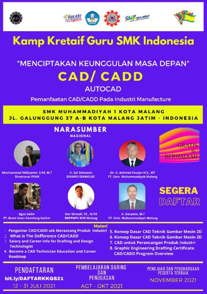SMK Muhisa Kota Malang Tuan Rumah Kamp Kreatif Guru SMK Se Indonesia 1
