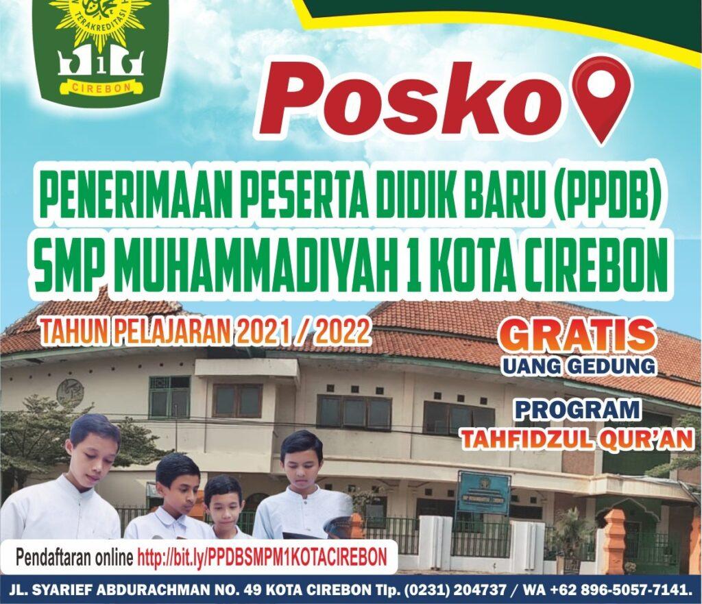 Solutif, SMP Muhammadiyah 1 Cirebon Buka Posko PPDB 1